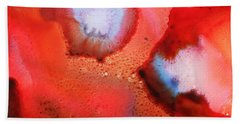 Red Cosmos Hand Towel