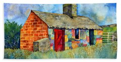 Red Door Cottage Hand Towel
