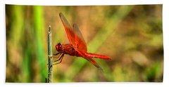 Red Dragon Dreams Bath Towel