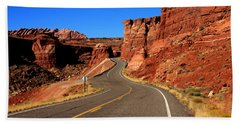 Red Rock Country Hand Towel