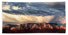 Red Rocks Of Sedona Hand Towel