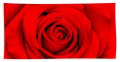 Red Rose 1 Hand Towel