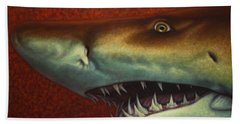 Red Sea Shark Hand Towel