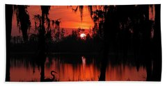 Red Swamp Bath Towel