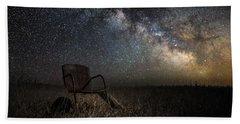 Redneck Planetarium Bath Towel