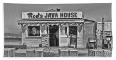 Red's Java House San Francisco By Diana Sainz Hand Towel