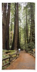 Redwood Trees Bath Towel