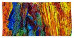 Reed Flute Cave Hand Towel