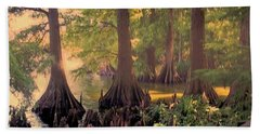 Reelfoot Lake At Sunset Bath Towel