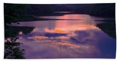 Reflected Sunset Bath Towel