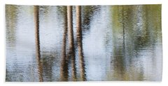 Reflection Abstract Hand Towel