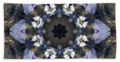 Reflection  Kaleidoscope Bath Towel by Jordan Blackstone