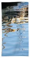 Reflections - White Hand Towel