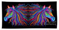 Reflections Hand Towel by Nick Gustafson
