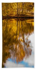 Reflections Of Autumn Bath Towel