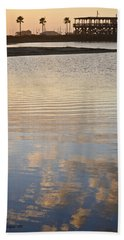 Reflections Of Dusk Hand Towel