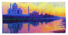 Taj Mahal, Reflections Of India Hand Towel