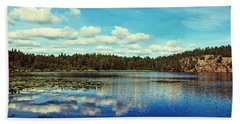 Reflections Of Nature Hand Towel