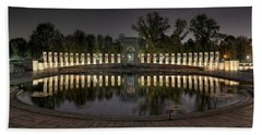 Reflections Of The Atlantic Theater Hand Towel