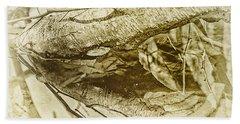 Reflective Birch Bath Towel