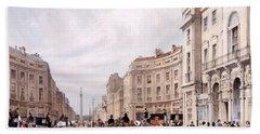 Regent Street, Looking Towards The Duke Bath Towel