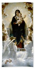 Regina Angelorum Hand Towel by William Bouguereau