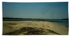 Hand Towel featuring the photograph Rehoboth Bay Beach by Amazing Photographs AKA Christian Wilson