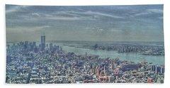 New York Remembering 9/11 Bath Towel
