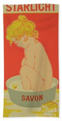 Reproduction Of A Poster Advertising Starlight Soap Bath Towel