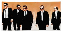 Reservoir Dogs Movie Artwork 1 Hand Towel