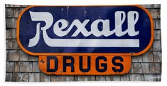 Rexall Drugs Bath Towel