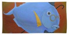 Rhapsody In Blue Bath Towel