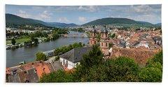Rhine River Hand Towel