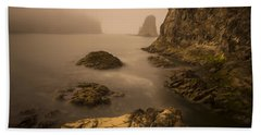 Rialto Beach Rocks Hand Towel