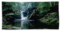 Ricketts Glen Falls 016 Hand Towel