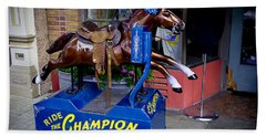 Ride The Champion Hand Towel