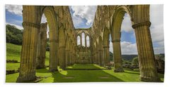 Rievaulx Abbey Bath Towel
