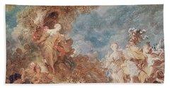 Rinaldo In The Gardens Of Armida Oil On Canvas See Also 250309 Bath Towel