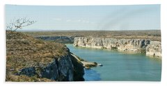 Hand Towel featuring the photograph Rio Grande by Erika Weber