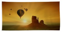 Rising To The Sun Hand Towel