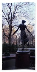 Rittenhouse Square At Dusk Hand Towel