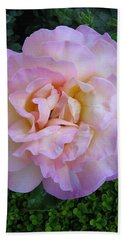 Ritzy Pink Rose Hand Towel