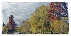 River Avon In Autumn Hand Towel