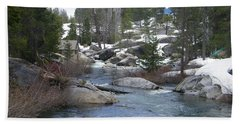 Hand Towel featuring the photograph River Bend  by Bobbee Rickard