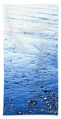 Hand Towel featuring the photograph River Blue by Robyn King