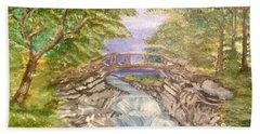 River Bridge Bath Towel