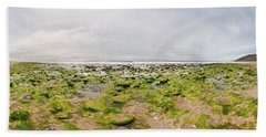 River Delta And Wetlands At Low Tide Hand Towel