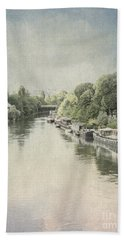River Seine In Paris Bath Towel