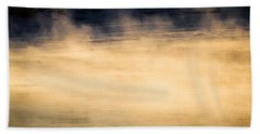 River Smoke Hand Towel by Bob Orsillo