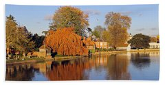 River Thames At Marlow Bath Towel